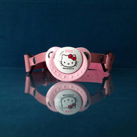 Pacifier gag - Hello Kitty - Pink Leather Pacifier Gag - PinkPonyClubnl - Bdsm DDLG Adult Fetish Ab/Dl Kinky ABDL Ageplay
