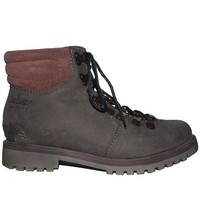 Coolway Bridget - Grey Leather Lace-Up Hiking Boot
