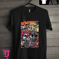 Zombie Super Heroes Marvel T-Shirt for man shirt, woman shirt **