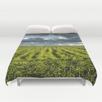 High Expectations Duvet Cover by Xiari_photo