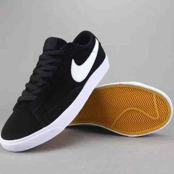 Nike Blazer Low Women Men Fashion Casual Old Skool Low-Top Shoes-4