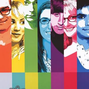 The Big Bang Theory TV Show Poster 22x34