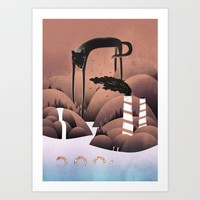 Bad Boy Art Print by Martynas Pavilonis