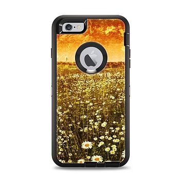 The Vintage Glowing Orange Field Apple iPhone 6 Plus Otterbox Defender Case Skin Set