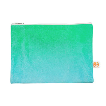"Monika Strigel ""Blue Hawaiian"" Aqua Green Everything Bag"