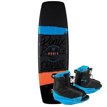 Ronix District Wakeboard Package with District Boots - 2018
