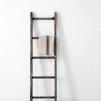 antique wood ladder / picking ladder