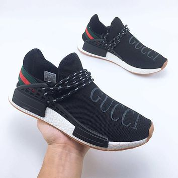 GUCCI Adidas HUMAN RACE NMD Leisure sports shoes