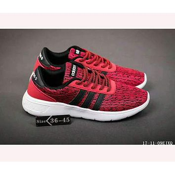 """Adidas"" NEO Perspective Breathable Nets Leisure Sports Shoes  F-HAOXIE-ADXJ Red"