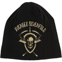 Avenged Sevenfold Men's Shield Beanie Black