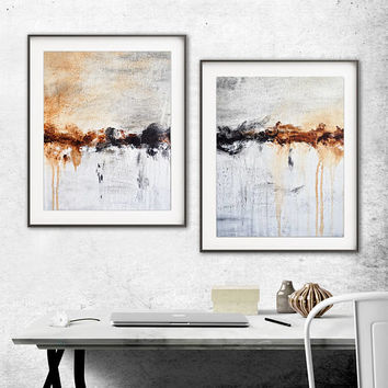 Printable Art Abstract Print Digital Download Set Of Two Lines Modern Contemporary Urban Painting Interior Design Wall Decor L. Beiboer