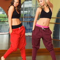 Free Shipping - Adult And Child Harem Sweatpants by URBAN DANCEWEAR