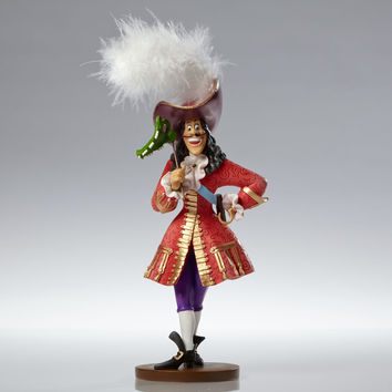 Disney Showcase Captain Hook Masquerade Couture de Force Figurine New With Box