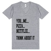 Perfect Date-Unisex Athletic Grey T-Shirt
