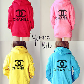 Unisex American Apparel Hoodies - CHANEL Hoodies- Christmas gift