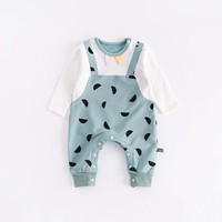peninsula baby new born boys girls climbing clothing autumn winter warm thick baby romper soft christmas baby jumpsuit