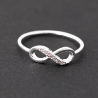 Infinite ring in silver by bythecoco on Zibbet
