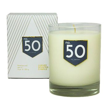 No. 50 Iris Jasmine Scented Soy Candle