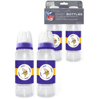 Minnesota Vikings NFL Baby Bottles (2Pack)
