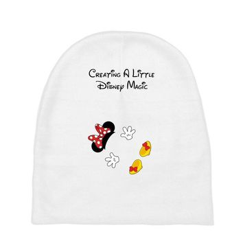 Creating A Little Disney Magic Minnie Mouse Baby Beanies