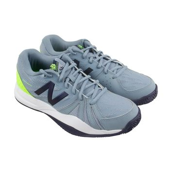 New Balance 786V2 Mens Gray Mesh Athletic Lace Up Tennis Shoes
