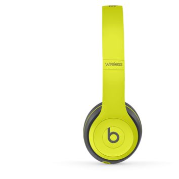 Beats Solo2 Wireless Headphones (Shock Yellow) | Beats By Dre
