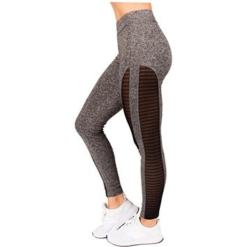 ACTIVEWEAR MESH COMPRESSION LEGGINGS