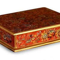 Hand Crafted Peruvian Wood Jewelry Box - Passion | NOVICA