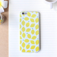 Lemon Case Ultrathin Cover for iPhone 5 6 6s Plus