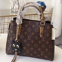 LV Louis Vuitton New fashion monogram print leather shoulder bag crossbody bag handbag