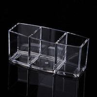 Transparent Acrylic Cosmetic Organizer Display Brush Lipstick Holder   Makeup