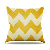 "Catherine McDonald ""1932"" Outdoor Throw Pillow, 18"" x 18"" - Outlet Item"