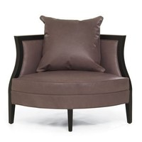 MIRANDA CORNER LEATHER CHAIR | Mitchell Gold + Bob Williams