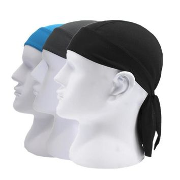 Quick Dry Bike Cycling Cap Head Scarf Summer Men Women Running Riding Sport Bandana Headscarf Ciclismo Pirate Hat Hood Headband
