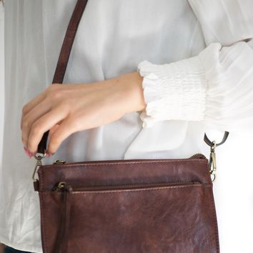 Cece Vintage Crossbody In Brown