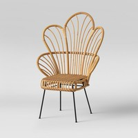 Avocet Rattan Fan Back Accent Chair - Opalhouse™