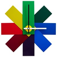 Watch Me Clock in Multi Color by Normann Copenhagen - Pop! Gift Boutique