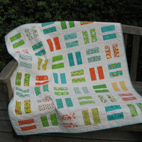 Baby Quilt, Child's Nap Quilt, Crib Quilt, Nursery Bedding