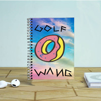 Golf Wang Ofwgkta Odd Future Create Taylor Photo Notebook Auroid