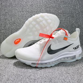 Nike OFF WHITE Air Max 97 AJ4585-100