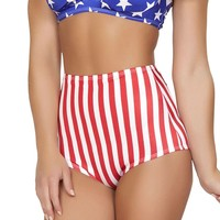 American Flag High Waisted Shorts : Summer Ravewear from RaveReady