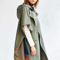 BDG Military Poncho Jacket - Urban Outfitters