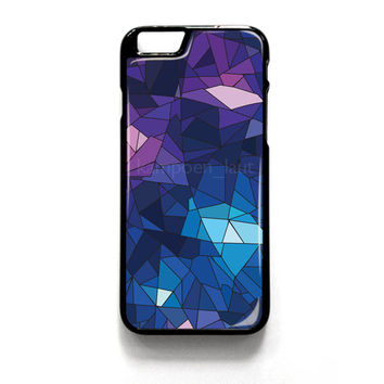 With Blue Glass Design iPhone 4 4S 5 5S 5C 6 6 Plus , iPod 4 5  , Samsung Galaxy S3 S4 S5 Note 3 Note 4 , and HTC One X M7 M8 Case