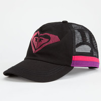 Roxy So Local Womens Trucker Hat Black Combo One Size For Women 25246214901