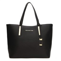 """Michael Kors"" Simple Fashion Tote Single Shoulder Shopper Bag MK Women Temperament Large Handbag"