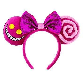 Disney Parks Cheshire Cat Ear Headband One Size New with Tags