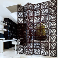 Hanging Wooden carved Cutout Carving room divider