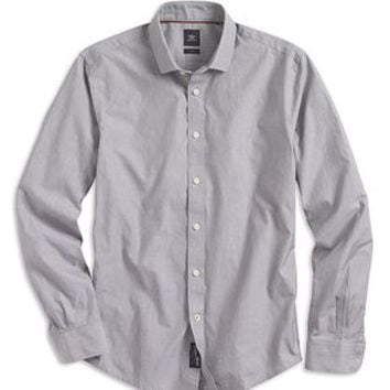 Dockers SF Poplin Shirt, Two-Ply - Grisaille - Men's
