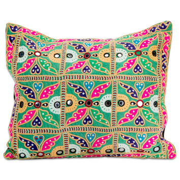 Kanpur Embroidered Pillow
