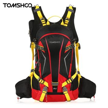 TOMSHOO 20L Water-resistant Bicycle Bike Cycling Backpack Bag Pack Outdoor Sports Riding Travel Camping Hiking Backpack Daypack